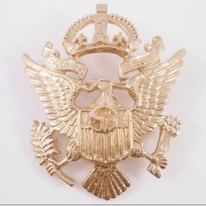 St. John eagle brooch